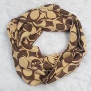 Coach Reversible Scarf